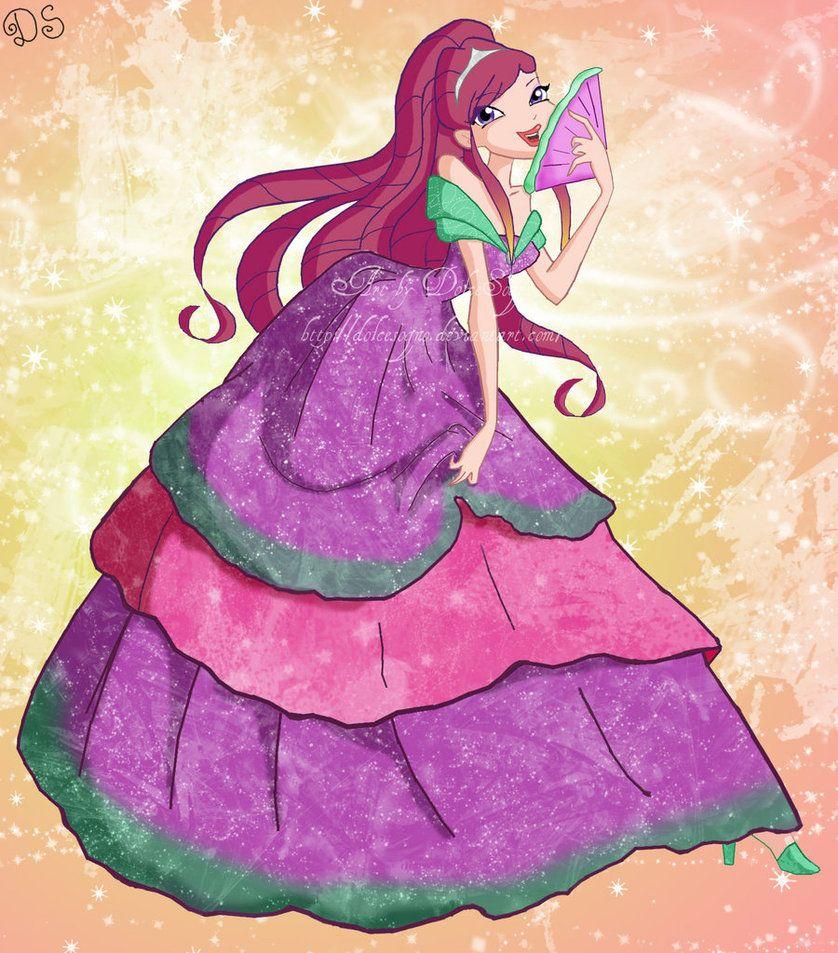 Dress up winx club - Winx Club Roxy Dress Puterea Winx Club