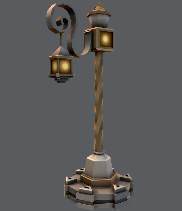Lamp Post V01 Editable 3d Model Of A House 3d 3dmodel 3ddesign 3dscene Vr Ar Animation Architectural Architecture Building Lamp Lamp Post Buy Lamps