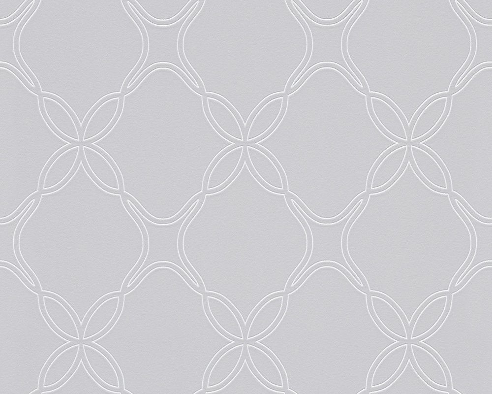 Schöner Wohnen Tapete 303841: Tapete, Grau, Metallics, Weiß, Natur ...