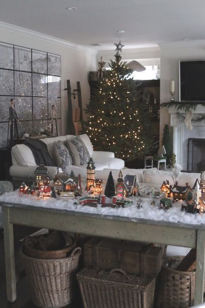 12 Original Diy Home Decoration Ideas With Images Christmas Home Christmas Villages Christmas Deco
