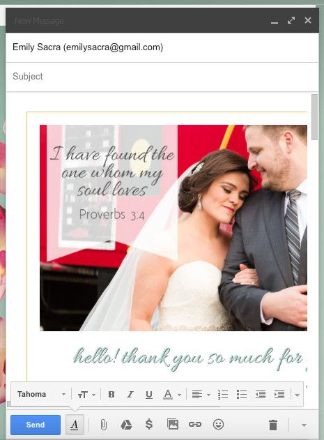 Making Wedding Inquiry Responses Awesome » Emily Sacra Photography