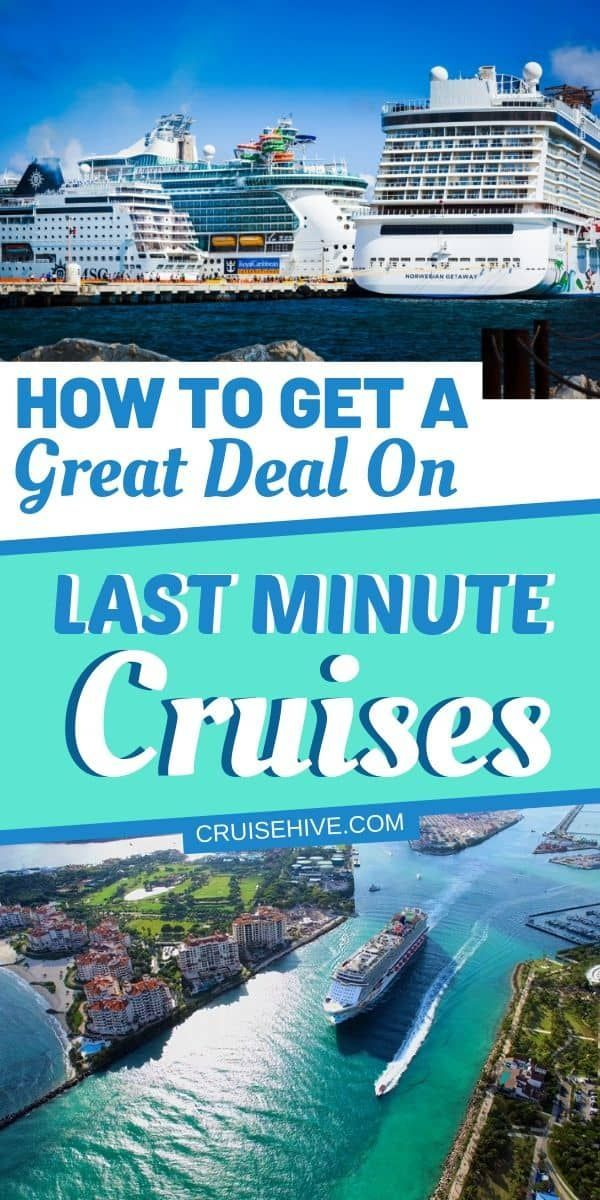 Find out how you can get a great deal on last minute cruises with tips and hacks for your vacation at sea! #cruise #cruises #cruisetravel #cruisetips #cruisevacation #cruiseships