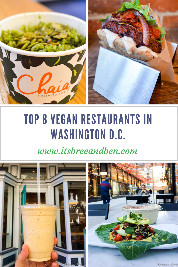 Top 8 Vegan Restaurants In Washington D C In 2020 Vegan Restaurants Vegan Travel Best Vegan Restaurants
