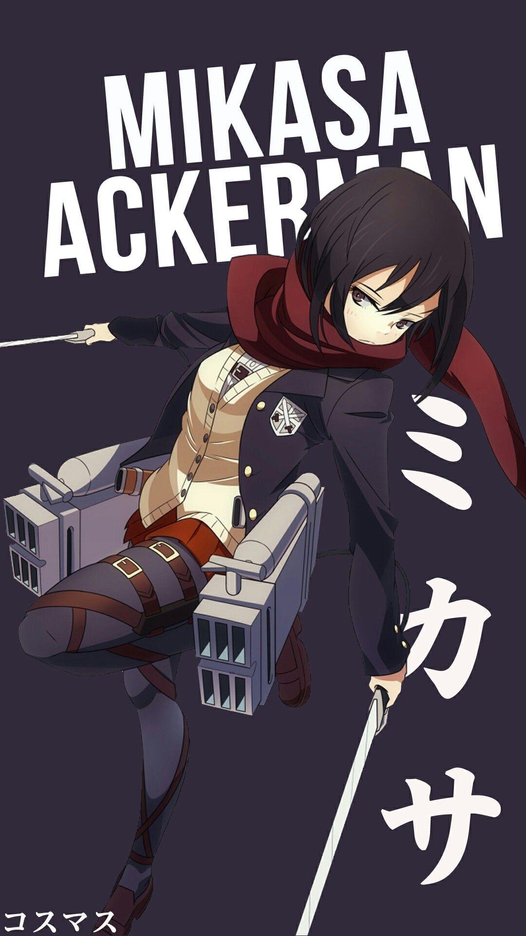mikasa ackerman attack on titan pinterest anime mikasa and