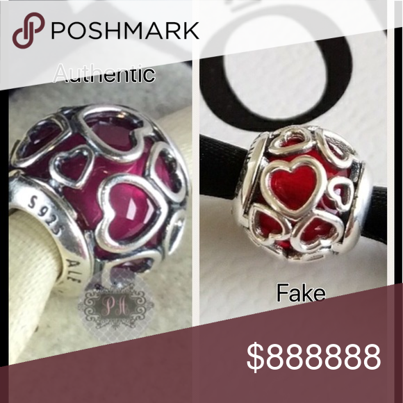 pandora bracelet real vs fake