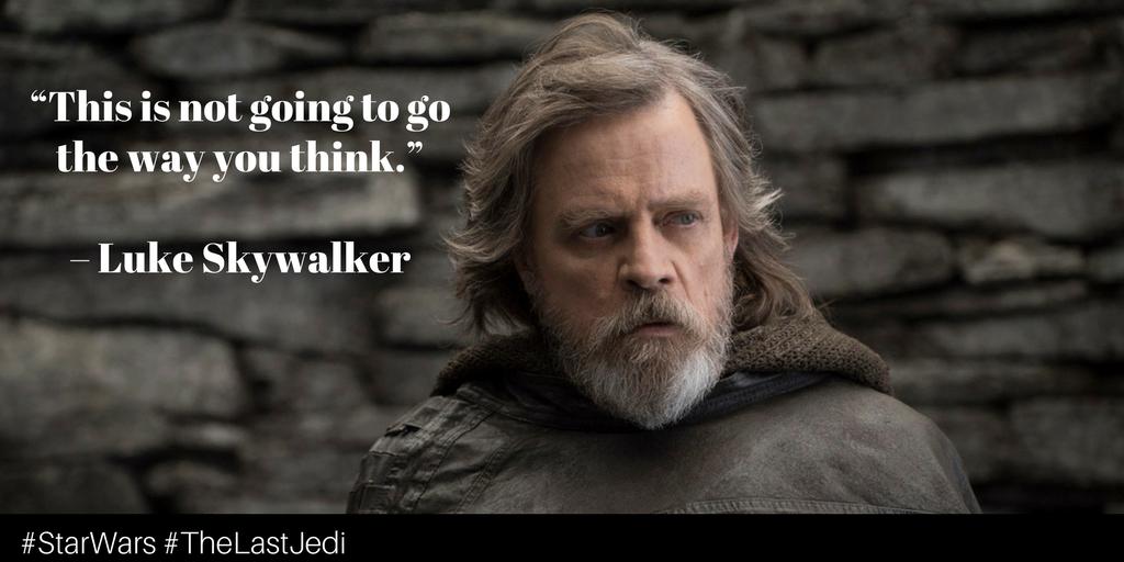 Luke Skywalker Quotes Inspiration StarWars TheLastJedi Quotes Rey LukeSkywalker LOVE Star Wars