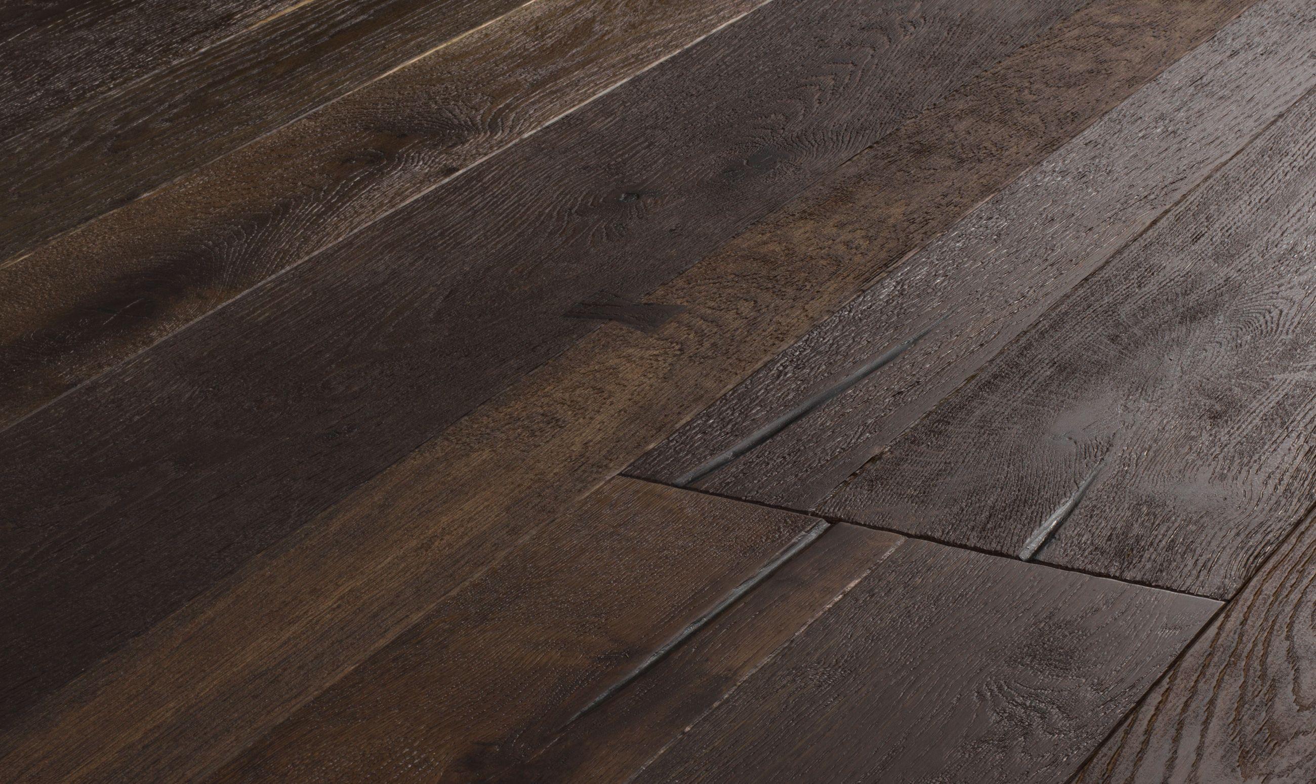 Mozart Wide Oak Hardwood Flooring Dark Engineered Wood Floors