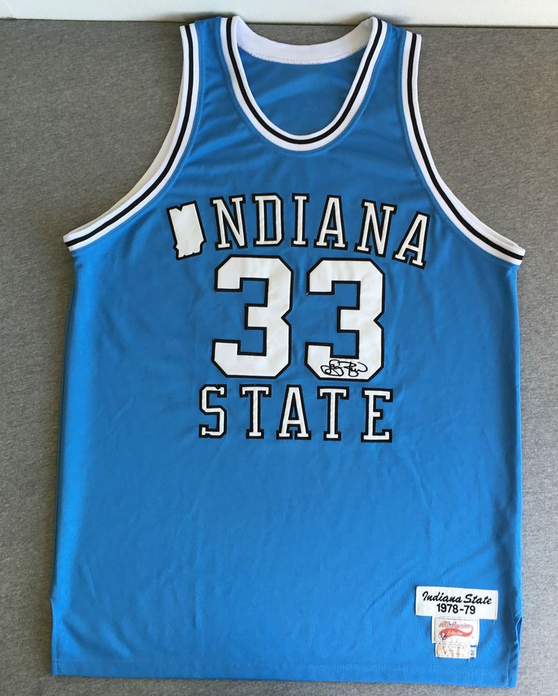buy popular 8ffd4 6710a larry bird jersey indiana state