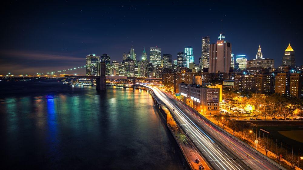Ultra Hd 4k Wallpaper 3840x2160 01525583 City Wallpaper New York Wallpaper Night City