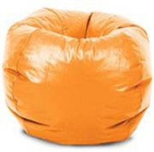 Comfort Research Classic Vinyl Bean Bag Chair Orange By 4745 Great