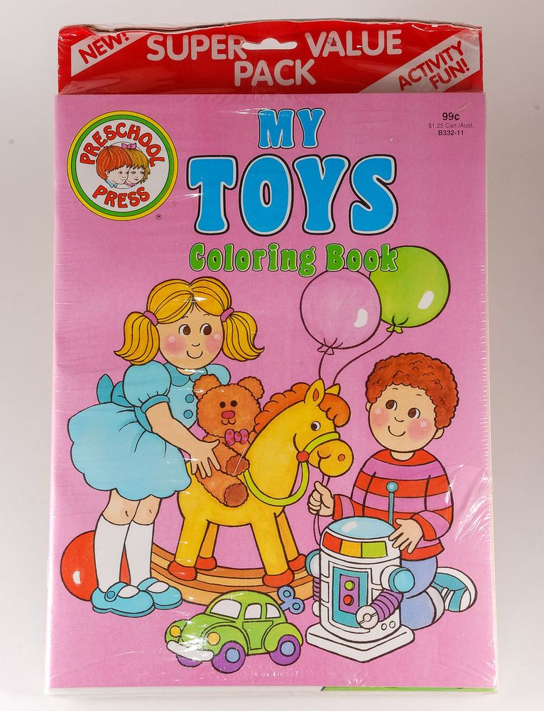 Lot of 5 #Vintage #ColoringBooks from Creative Child Press My Toys ...