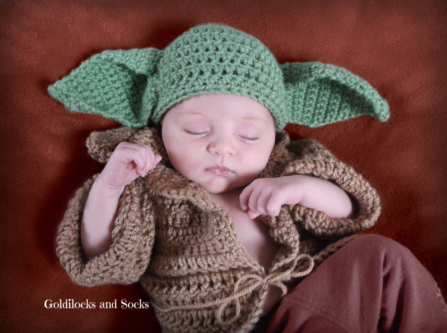 how to knit a baby yoda hat episode