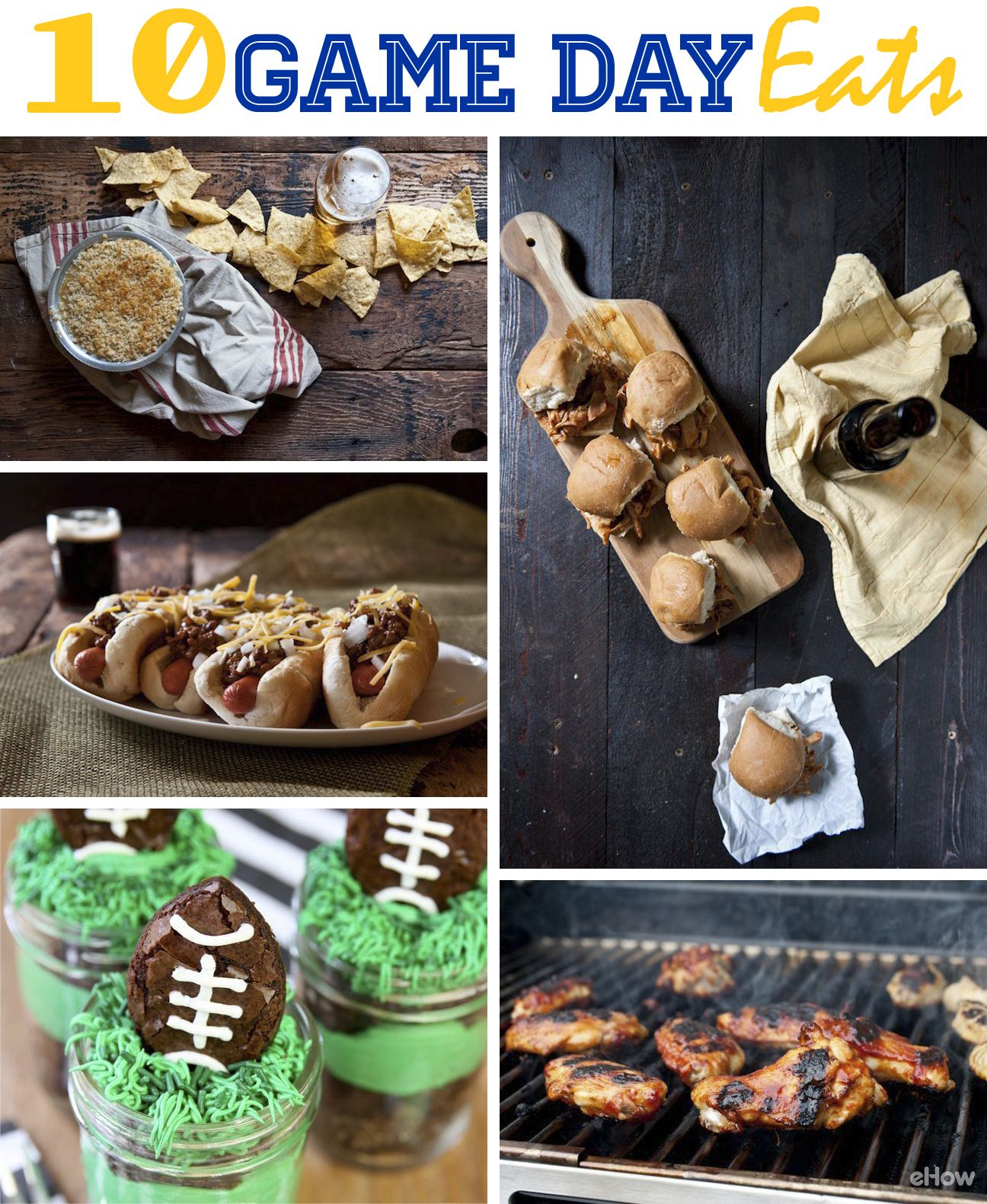 10 Delicious Game Day Eats That Rival The Game Ehow Com Eat Super Bowl Food Tailgate Party Food
