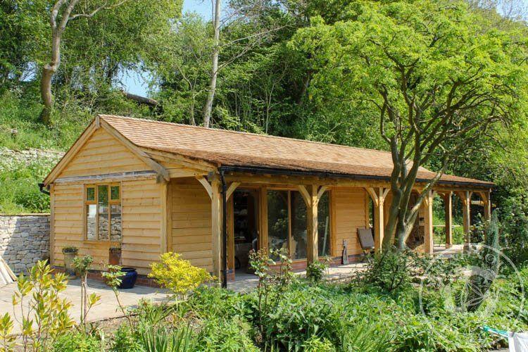 Radnor Oak - Home Office - Oak Framed Office - Annex - Oak Garden Room - Oak Framed Building - Oak framed Summer House