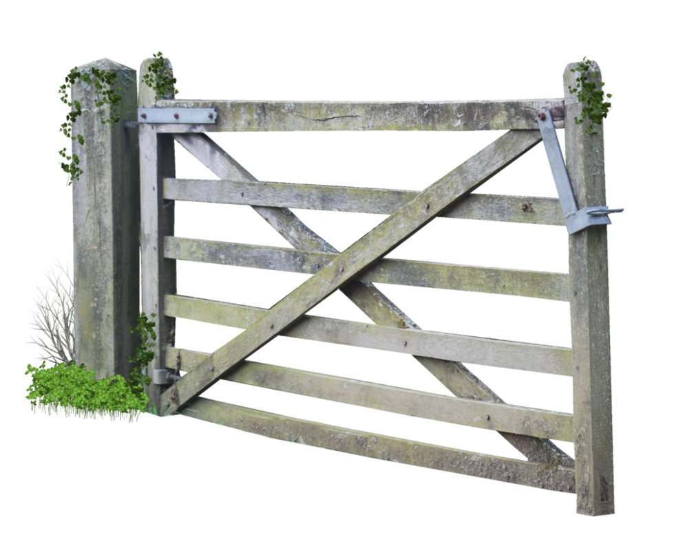 Wooden Farm Gate PNG.. by AledJonesStockNArt on DeviantArt