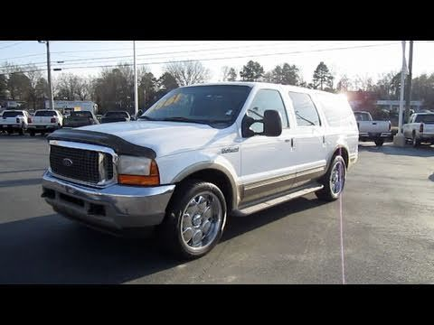 2001 Ford Excursion V10 Limited Start Up Exhaust And In Depth