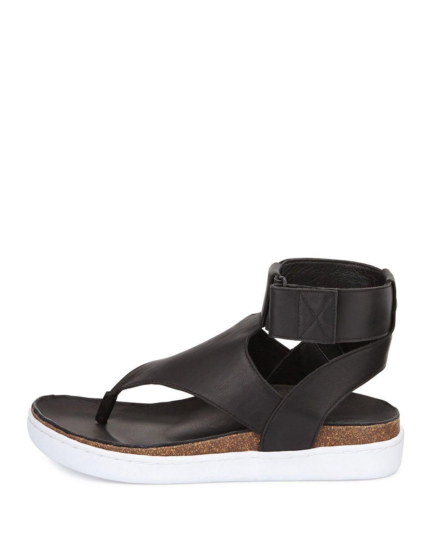 d528ba1d1 ATELJE71 Ajax Leather Platform Thong Sandal