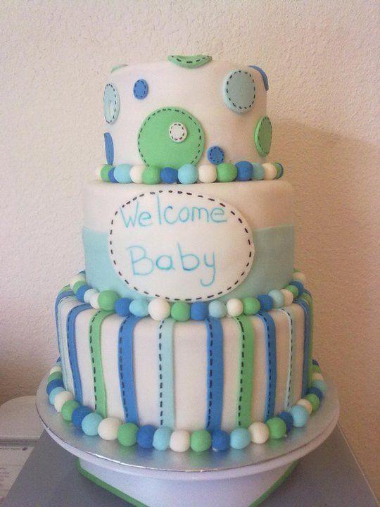 Superior Pasteles De Fondant Para Baby Shower De Niño   Imagui
