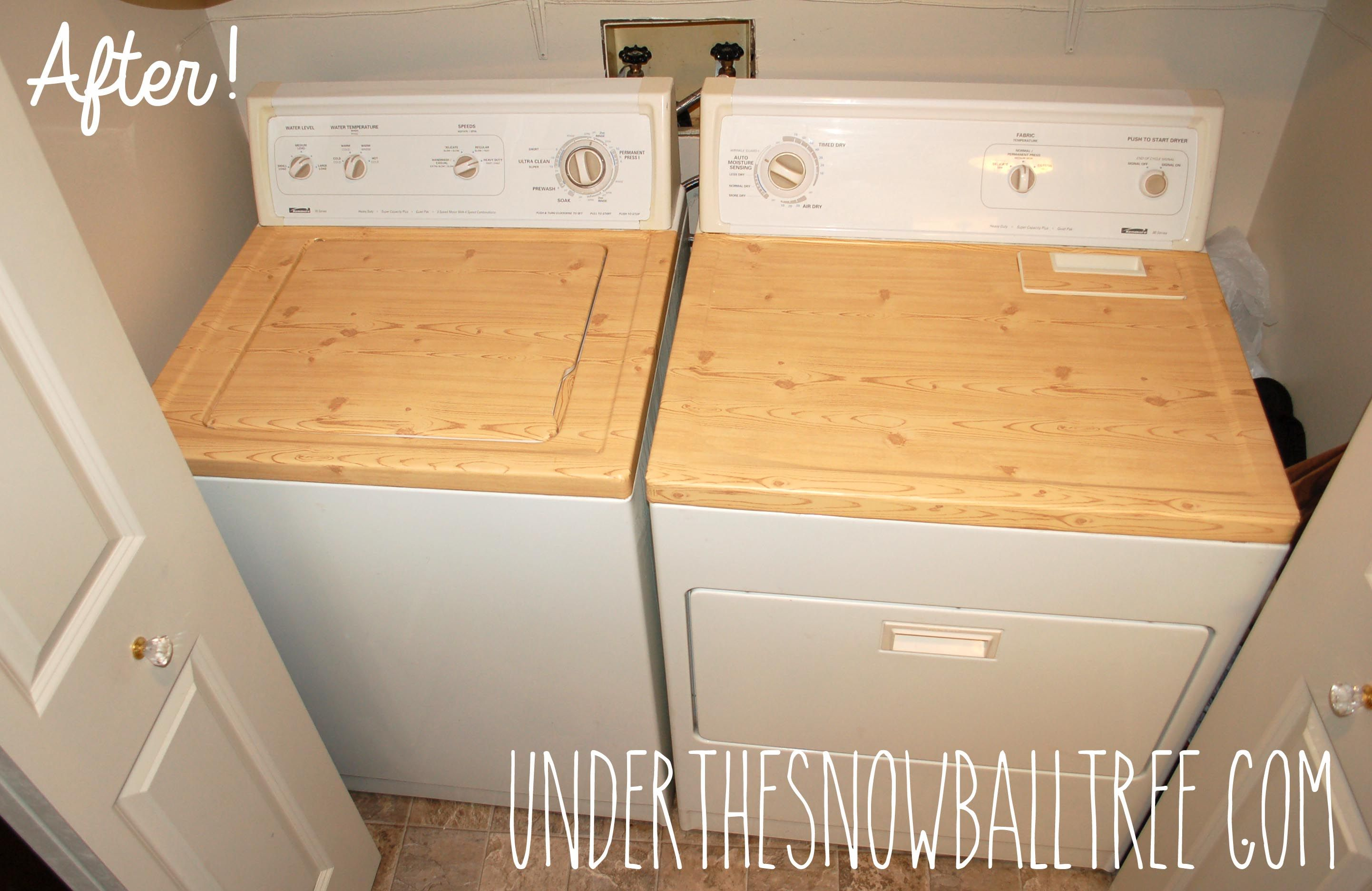 Wood Contact Paper Laundry Room Diy Laundry Makeover Laundry Room Design