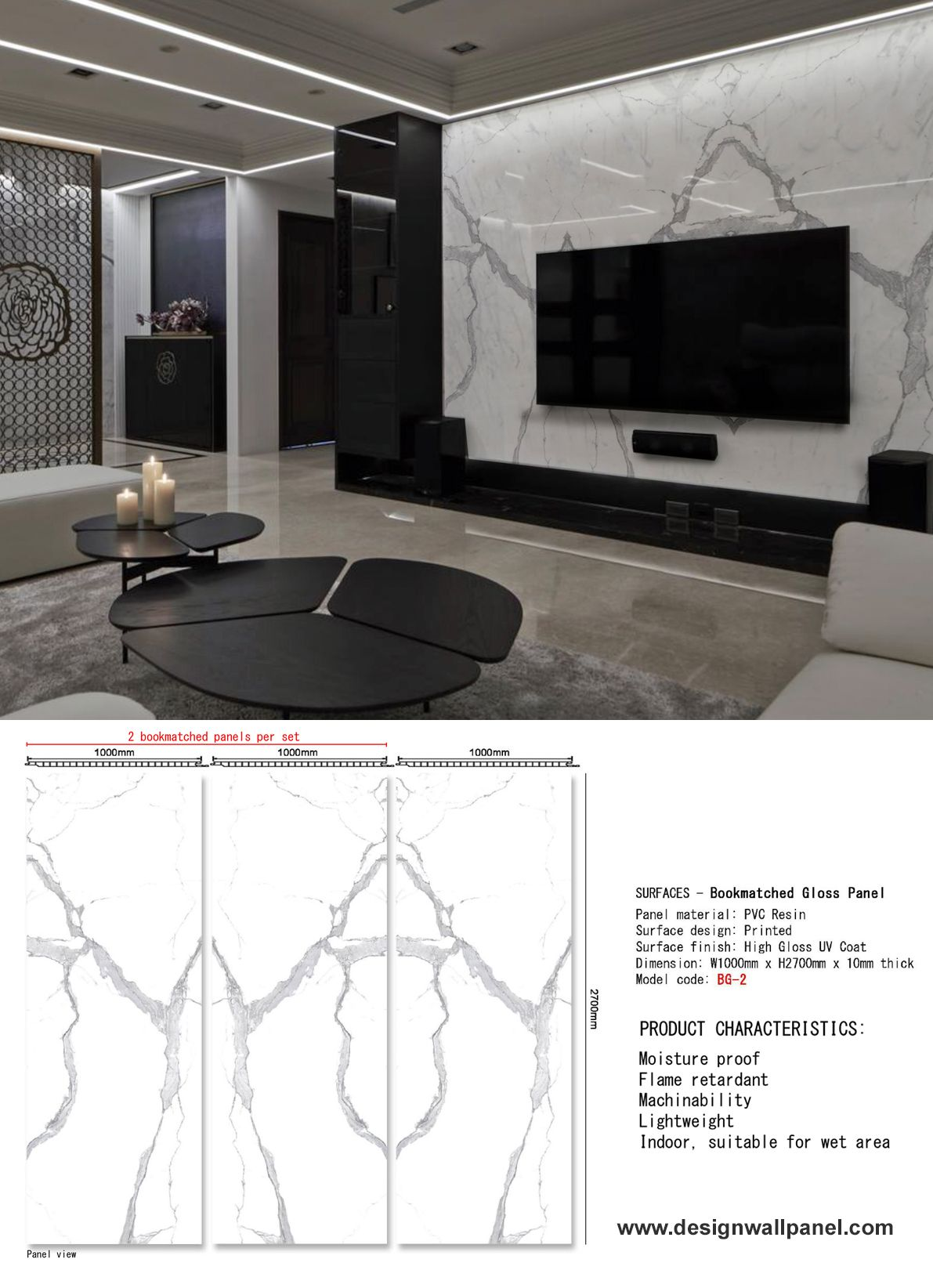White Marble Wall Panel In 2020 Interior Wall Design Textured Wall Panels Tv Wall Design