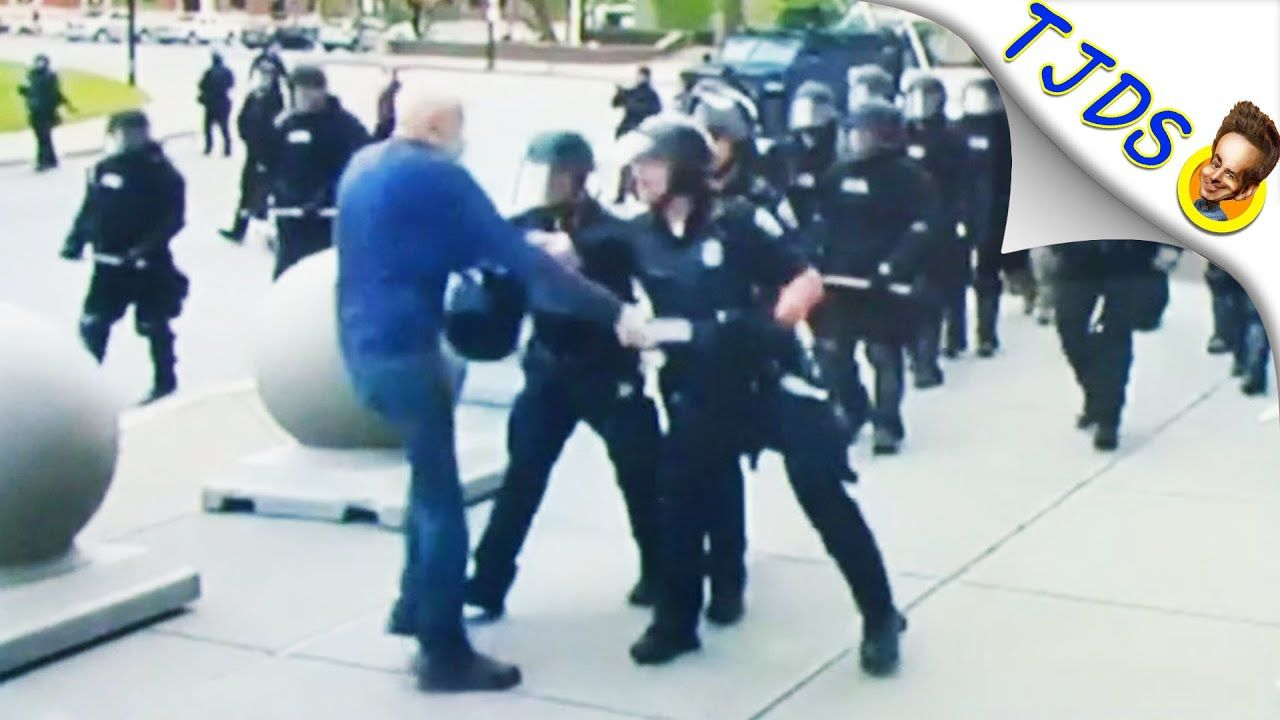 Cops applaud cops who assaulted 75 year old on camera in