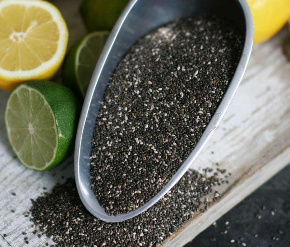 Chía, Actualmente esta semilla se utiliza para preparar bebidas refrescantes, la más popular es el agua de limón con chía. También se realizan aceites, tamales y chapatas con la chía.