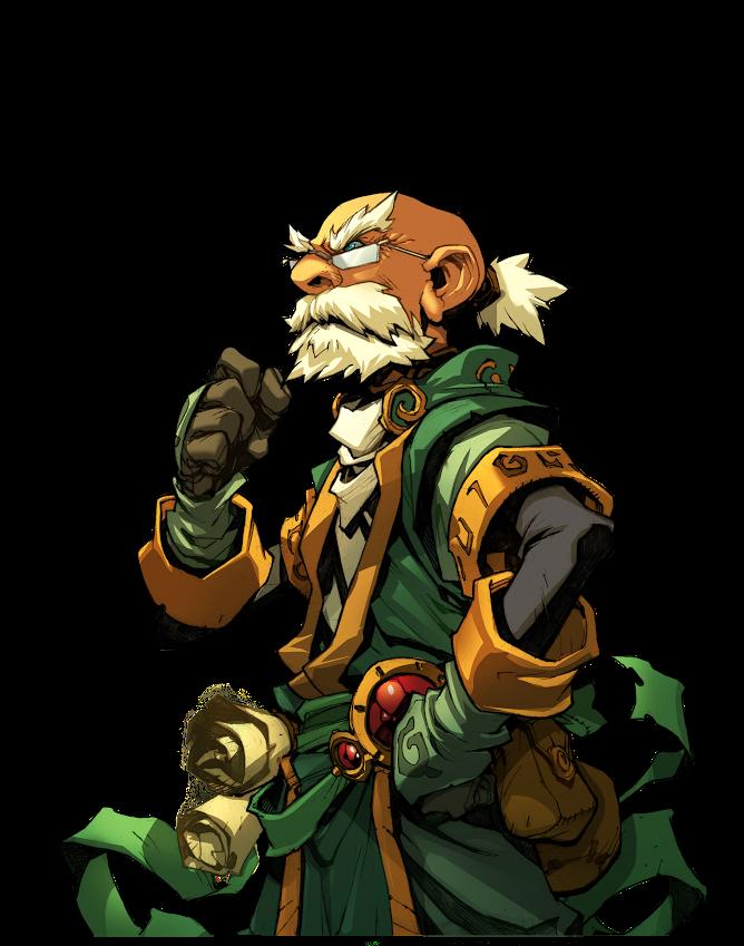 Character Design Kickstarter : Battle chasers nightwar kickstarter polycount