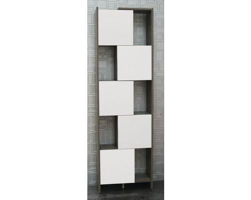 hochschrank savana weiß/grau mit variabler breite bei hornbach, Badezimmer ideen