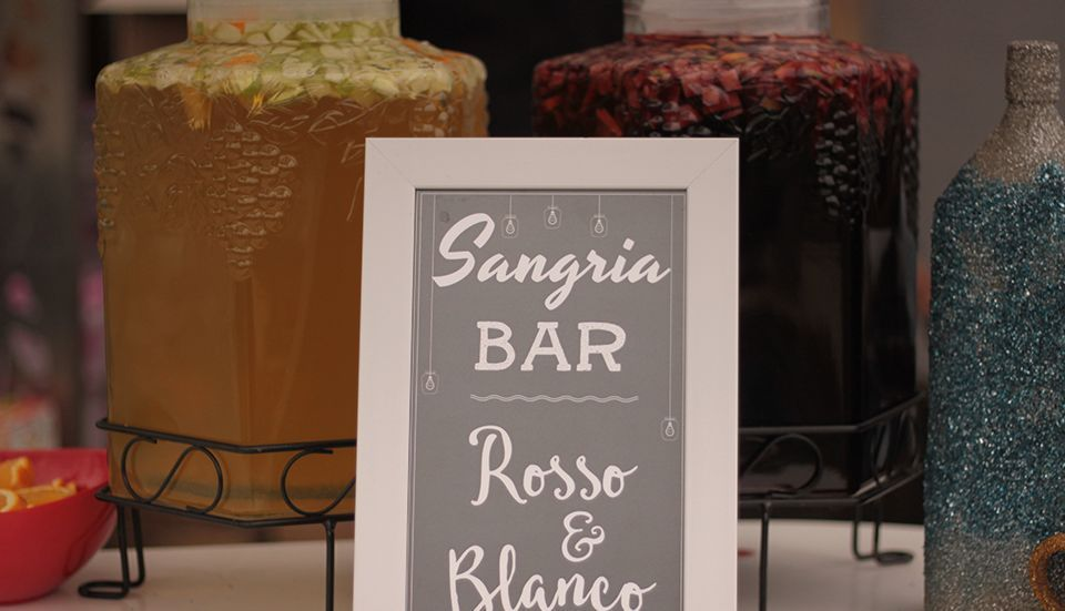 No event is complete without a Sangria Bar