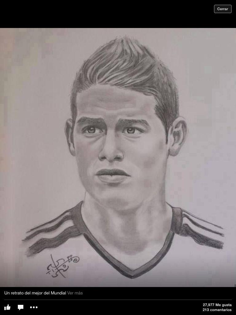 Mi James Dibujado Jamar
