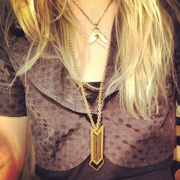 Fly necklace and arrow necklace #melvinjewelry  - @melvinjewelry- #webstagram