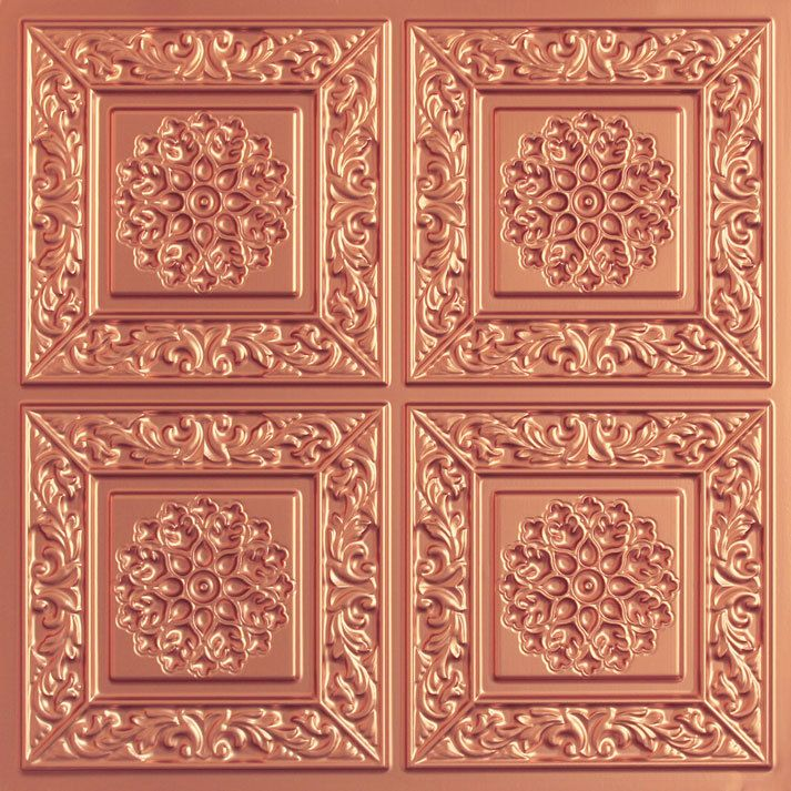 Chamonix Faux Tin Ceiling Tile 24x24 203 Ceilings Tile