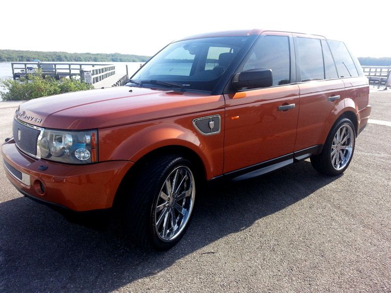 2006 RANGE ROVER SPORT SUPERCHARGED VESUVIUS ORANGE http