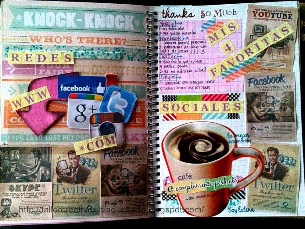 Taller Creativo Xinia Quesada Smashbook: Redes Sociales #oleadaretro
