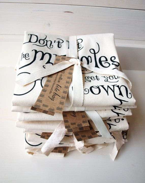 Don't let the muggles get you down  Tote by AfternoonCoffee, $10.00