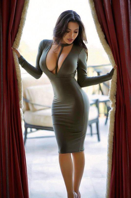 Asian Girl Tight Dress