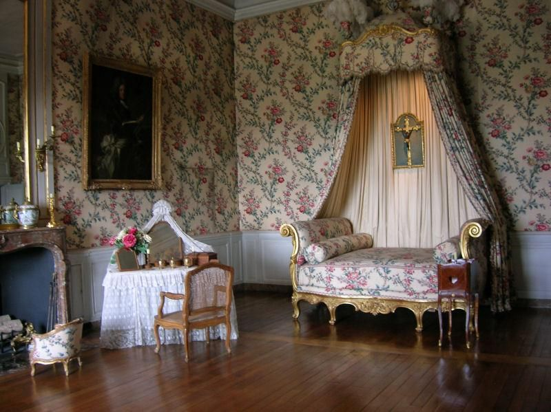 Chateau Vaux Le Vicomte Chambre Romantique Photos Chambre Chambre Royale