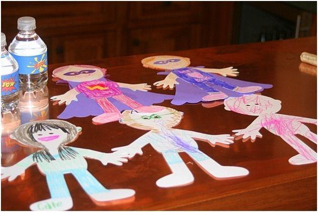 Superhero Birthday Party Craft Ideas Www Spaceshipsandlaserbeams Com