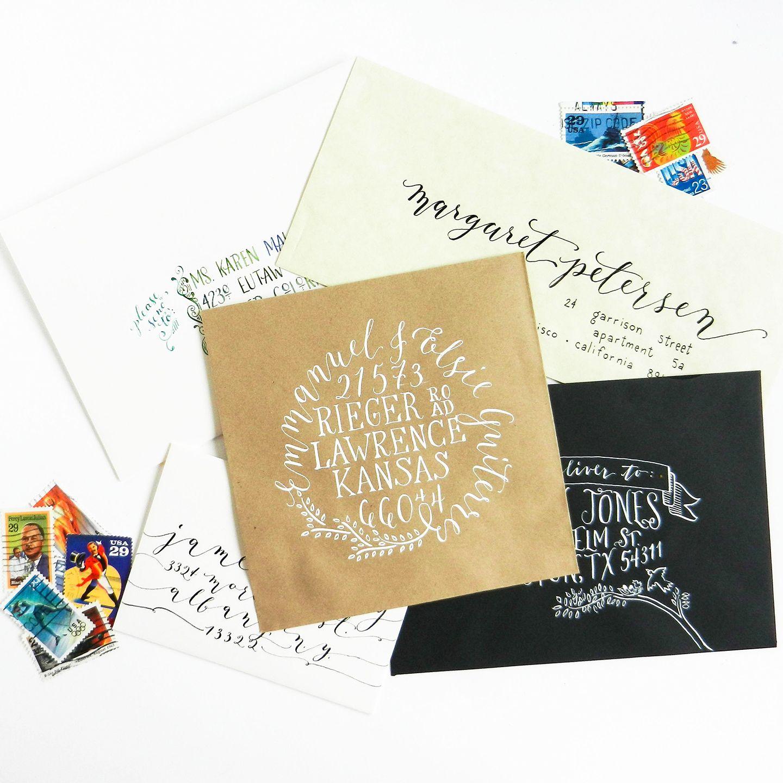 5 Unique Ways To Address An Envelope