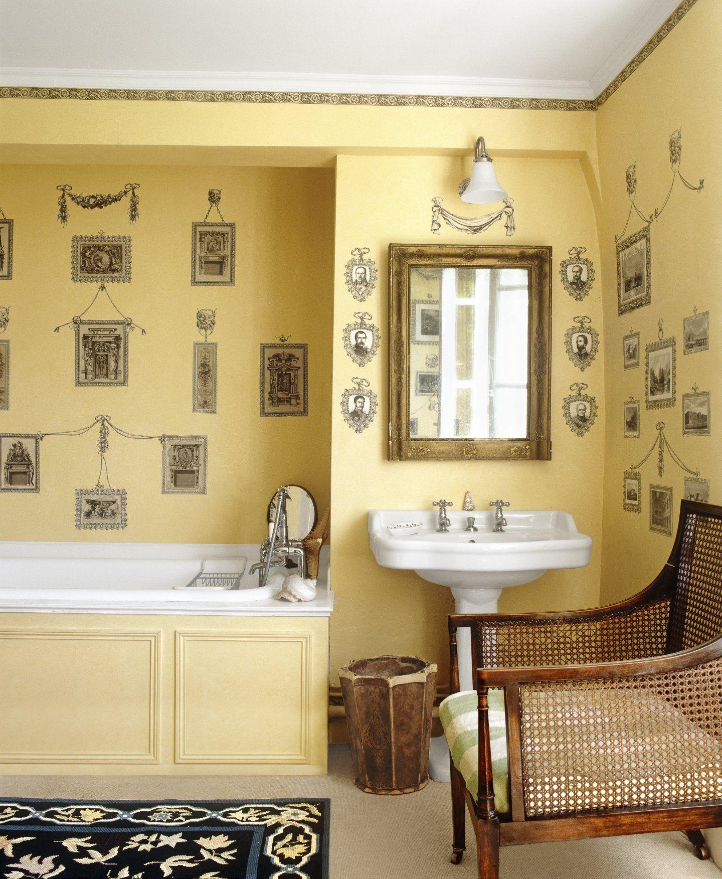 20 Budget-Friendly Bath Ideas | Wall pops, Wall sticker and Walls