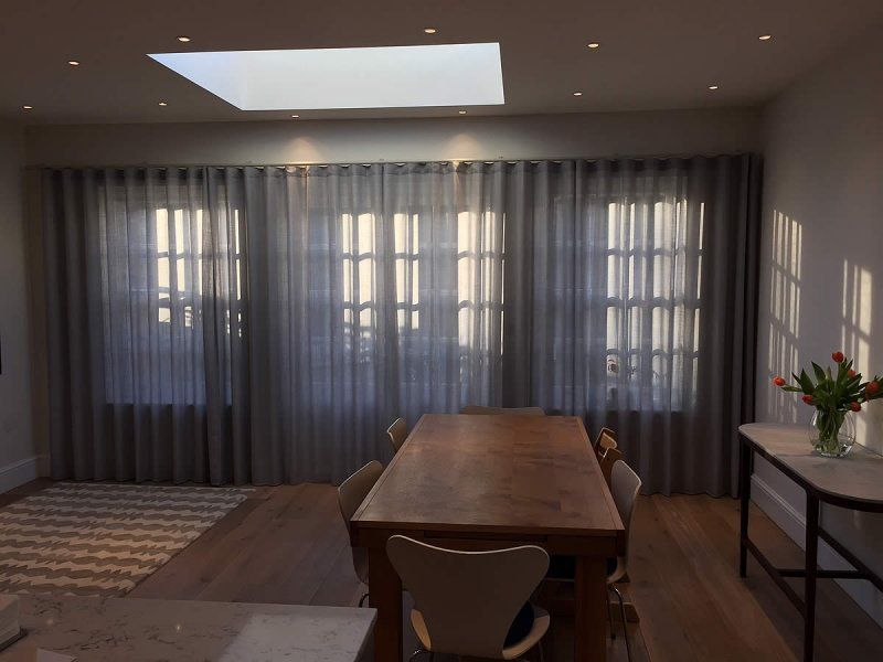 Curtains For Bi Fold Doors In 2019 Curtains For Bifold