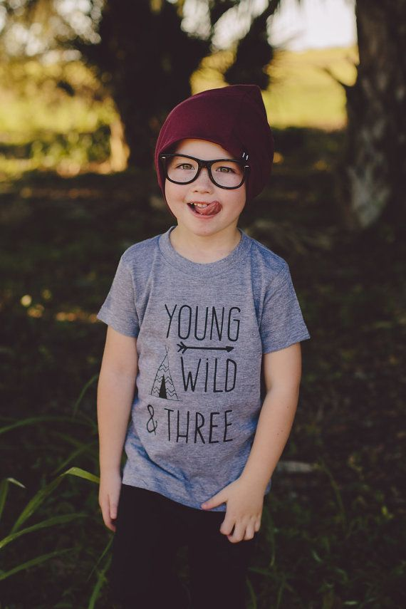 Boys 3rd Birthday Shirt By WillowBeeApparel Third Bash Happy