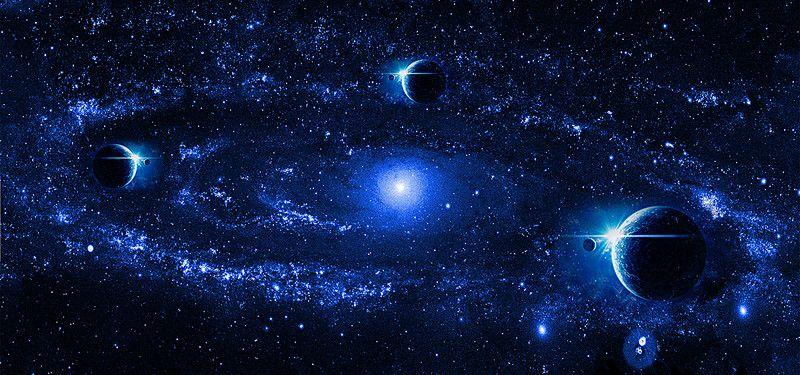 Galaxy Background Layouts