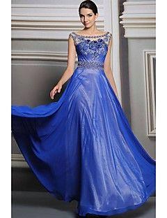 Ball Gown One shoulder Floor-length Evening Dress(31215) – AUD $ 250.19