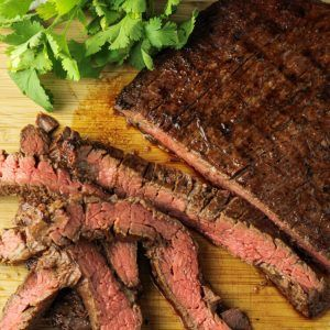 Delicious Soy Ginger Flank Steak Marinade - Feeding Your Fam #steakmarinades