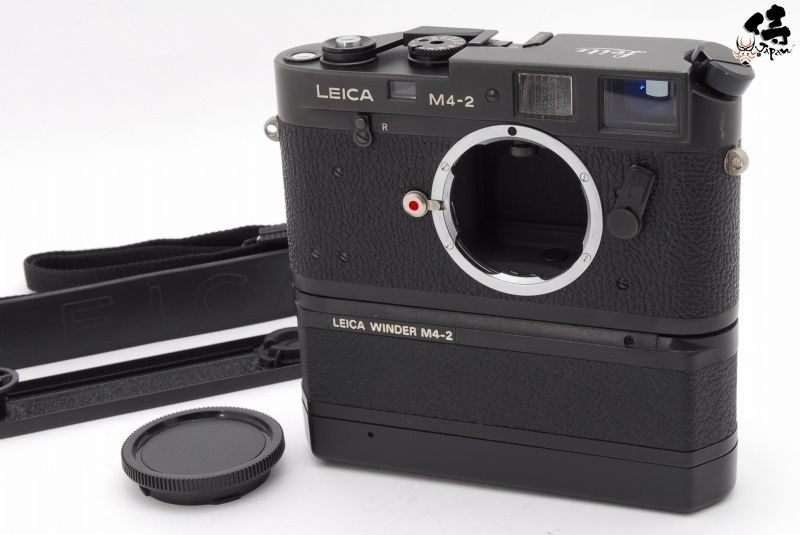 NEAR MINT+++】Leica M4-2 35mm Rangefinder Film Camera W