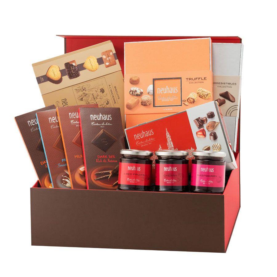 Neuhaus Chocolates Indulgence Gift Box Chocolate Gifts Basket Luxury Gift Basket Chocolate Gifts