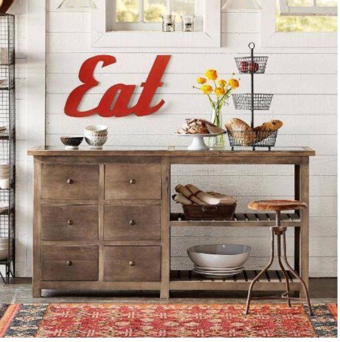 Emma Buffet Table Free DIY Plans