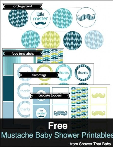 Free Baby Shower Printables | Shower That Baby