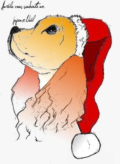 Chien - Noël